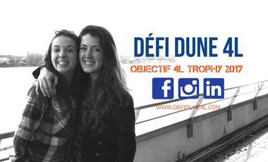 Visuel du projet Défi Dune 4L - 4L Trophy 2017