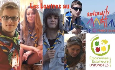 Project visual Les Loutres au Roverway !!