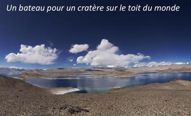 Project visual Un bateau pour un cratère sur le toit du monde