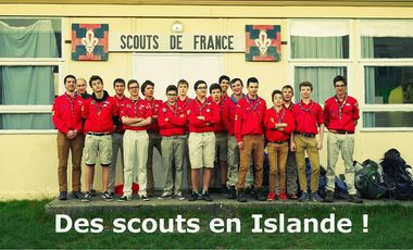 Project visual Des scouts en Islande !