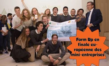 Visuel du projet Form Up