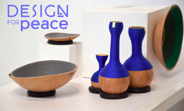 Project visual Design For Peace, Co.creation et design solidaire