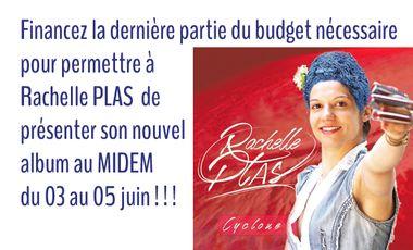 Project visual Présenter le nouvel album de Rachelle Plas au MIDEM du 03 au 05 juin