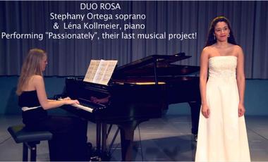 """Visueel van project Duo Rosa - Album """"Return"""""""