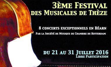 Visuel du projet 3ème Festival des Musicales de Thèze