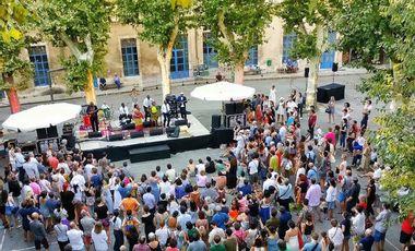 Visueel van project LA! C'EST DE LA MUSIQUE - Festival de Musiques Innovantes à Avignon