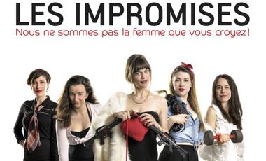 Project visual Les Impromises : Venez Improviser un monde au Féminin !