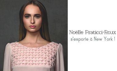 Project visual Noëlle Praticci-Roux s'exporte à New York
