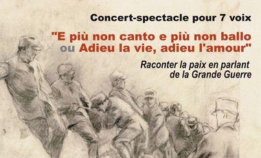 """Project visual Concert-spectacle """"E più non canto..."""""""