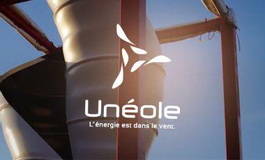 Project visual Unéole, l'éolienne urbaine en fibre de lin