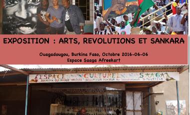 Project visual Exposition :  Arts, Révolutions et Sankara au Burkina Faso