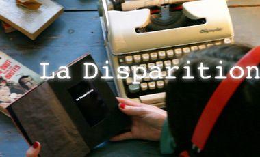 Project visual La Disparition en Avignon