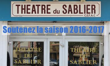 Project visual Soutien à la saison 2016-2017 du Théâtre du Sablier à Orange