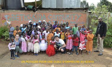 Project visual Un potager pour une école d'orphelins à Nairobi au Kenya