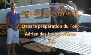 Visuel du projet Encouragez Jérémy pour le tour de France
