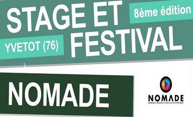 Visueel van project Stage et Festival NOMADE Yvetot 2016