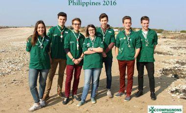 Visuel du projet Projet Philippines 2016 - Compagnons Nanterre