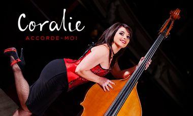 "Visuel du projet Coralie - 1er Album - ""Accorde-moi"""