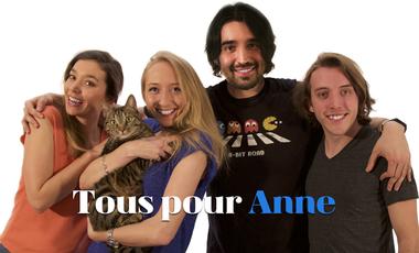 Project visual Tous pour Anne
