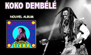 Visueel van project KOKO DEMBELE:TIEBA Le Nouvel Album!!