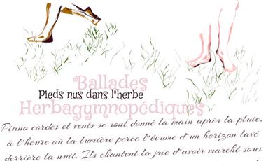 Visueel van project Pieds nus dans l'herbe, ballades gymnopédiques