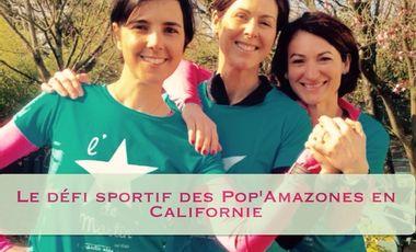 Project visual Le défi sportif des Pop'Amazones en Californie