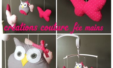 Project visual Fée mains - Créations couture