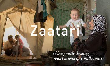 Visueel van project Zaatari