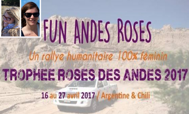 Project visual Fun Andes Roses - Trophée Roses des Andes 2017