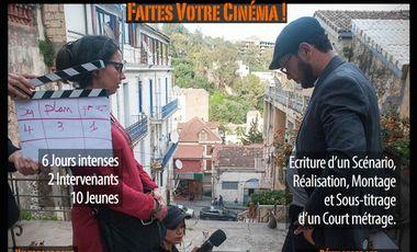 Project visual Faites Votre Cinéma!