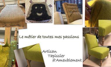 Visuel du projet Le métier de toutes mes passions: artisan tapissier d'ameublement.