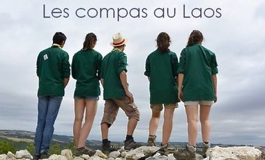 Visueel van project Les compas au Laos.