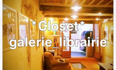 Visuel du projet le *Closet* galerie-librairie