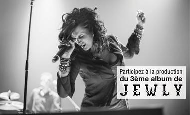 Visuel du projet Jewly, 3ème album