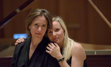 Visuel du projet Nikitine Sisters Duet : premier album Piano & Orgue