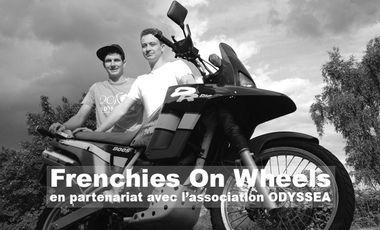 Project visual FrenchiesOnWheels - Un tour du Monde à Moto -