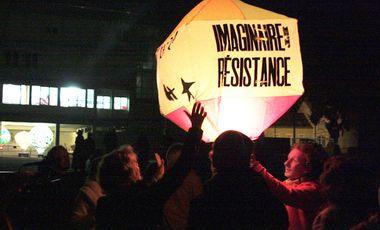 Visueel van project Imaginaire & Résistance