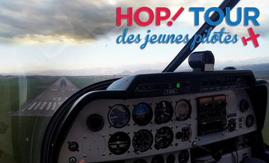 Visuel du projet Objectif - HOP ! Tour Aérien des Jeunes Pilotes 2016