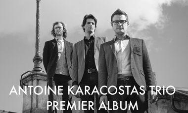 Visueel van project Antoine Karacostas Trio : premier album !