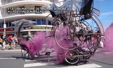 Project visual Le laboratoire de Madame Sonore à Aurillac