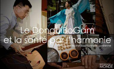 Project visual Le DongUiBoGam : la Santé par l'Harmonie