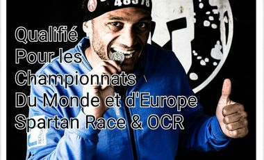 Visuel du projet Représenter la FRANCE pour les Championnats d'Europe, du Monde de Spartan Race et OCR