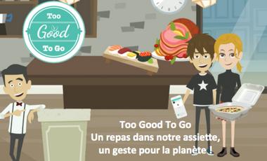 Visueel van project Too Good To Go