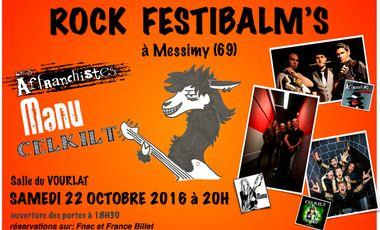 Visuel du projet ROCK FESTIBALM'S