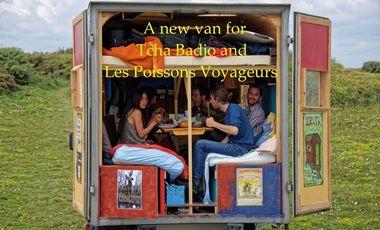 Visueel van project Le Van des Poissons Voyageurs et de Tcha Badjo