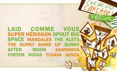 """Visueel van project Soutenez le festival """"C'est pas d'la Carotte ! """""""