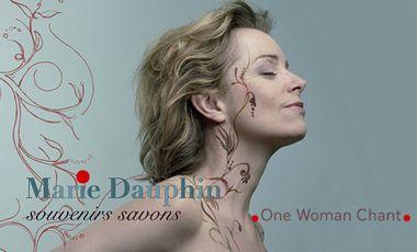 """Visueel van project One woman chant de Marie Dauphin  """" SOUVENIRS SAVONS"""""""