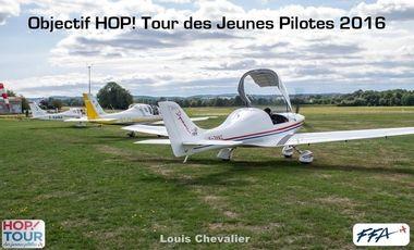 Project visual HOP! Tour des Jeunes Pilotes 2016