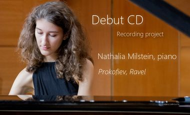 Project visual Nathalia Milstein - Piano solo debut CD