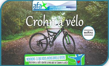 Visuel du projet Crohn à vélo